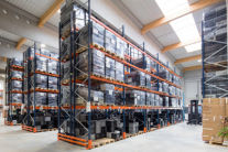 Multi-functional warehouse & service areas